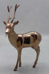 Aluminum Decorative Reindeer Statue