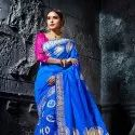 Fancy Cotton Jacquard Saree