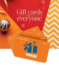 Orange Big Bazaar Gift Card