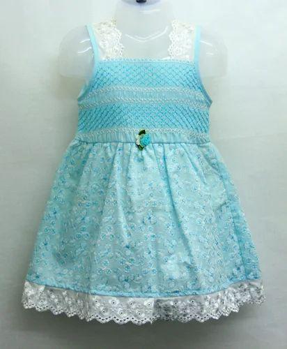 64afc7adac08 Girls Cotton Frocks - Designer Cotton Baby Frock Exporter from Mumbai