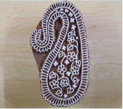 Indian Traditional Wooden Print Block