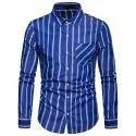 Mens Blue Shirts