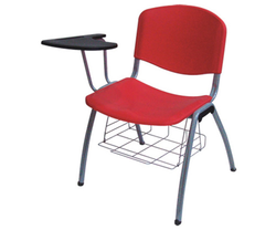 Institutional Chairs With Writing Pad