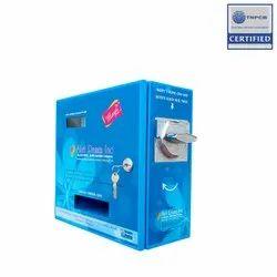 Sanitary Napkin Dispenser For Offices