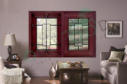 Grill UPVC Villa Window
