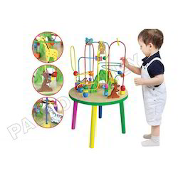 Wire Beads - Kids Toy with Table