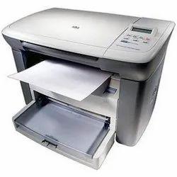 HP LaserJet M1005 MFP Multi-Function Printer (White, Black, Toner Cartridge)