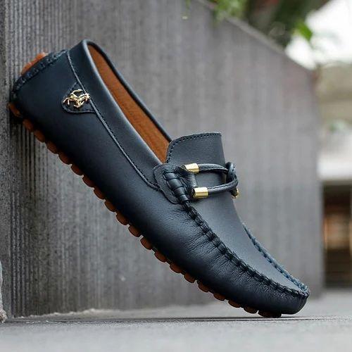 Navy Blue Mens Loafer Shoes, Size: 6-11