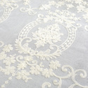 Embroidered Voile Fabric