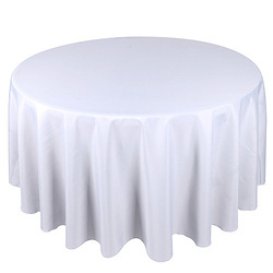 Round Table With Tablecloth.San Fibre Polyster Satin Round Table Cloth Id 11428926833