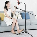 Microphone Stand With Mobile Holder