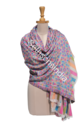 Multicolor Seth Sons India Embroidery Shawls