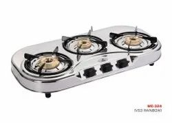 MC-324 Three Burner SS Stove