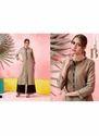 Maa Indian Fashion Women's Rayon Brown Kurti with Palazzo Set