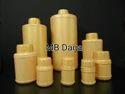 Gloden Mb Daga Round Shaped Plastic Bottles, Capacity: 10 Ml, For Chemical Storage