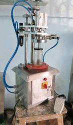 Semi Auto Lug Capping Machine