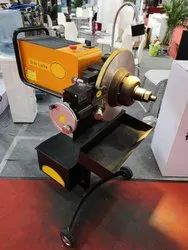 On Car Brake Disc Cutting Lathe Machine