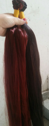 Red & Black Color Hair