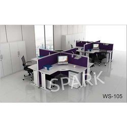 WS-105 Office Workstation Furniture