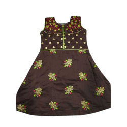 Girls Cotton Party Wear Dress