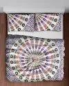 Cotton Printed Ombre Mandala Double Duvet Rajai Cover