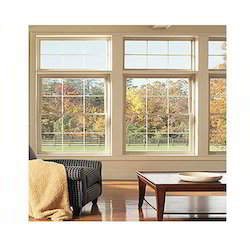 Eureka Fixed Window UPVC Combination Window, Thickness Of Glass: 8 Mm, for Home