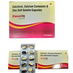 Calcitriol Calcium Carbonate & Zinc  Soft Gelatin Capsules