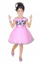 Pink Color Girls Frock
