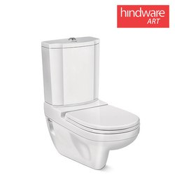 White Floor Mounted Hindware Sanitary Ware