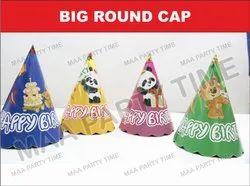 BIG ROUND CAP