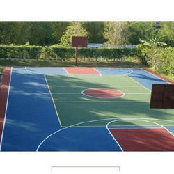 Outdoor Sports Synthetic Flooring