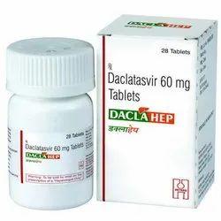 DaclaHep Daclatasvir 60 mg Tablets