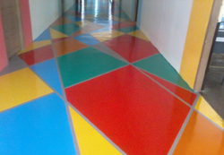 Akshith Semi Solid Epoxy Floor Coating Service