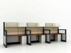 Furniture Pride Wooden Office Workstation Table