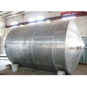 Horizontal Acid Storage Tank