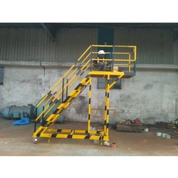 Industrial Portable Platform Staircase