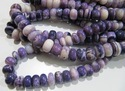 Beautiful Purple Opal 13-14mm Plain Beads