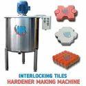 Interlocking Tiles Hardener Machine