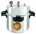 Jumbo Restaurant Aluminum Pressure Cooker 200 Ltr