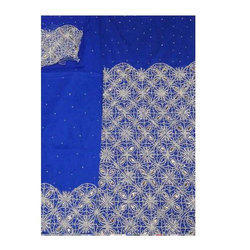 Blue Embroiedered Designer VIP George