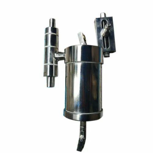 Mild Steel Semi-Automatic 1 L Syringe Liquid Filling Machine, Capacity: 1  Liter,   ID: 21104543873