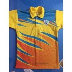 Half Sleeves Printed Kids Cotton Sports T Shirt