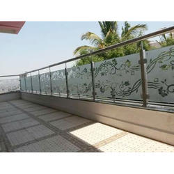 Balcony Glass Railing At Rs 1200 Square Feet बलकन