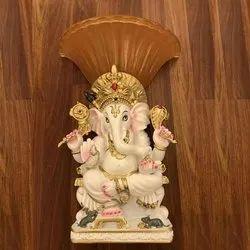 LED Ganesha Wall Light