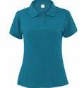 Ladies Collar Neck T-Shirt