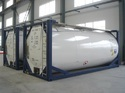 Stainless Steel Chemicals Swap Body 20kl To 26kl Tank Container, For Chemical, Capacity: 10-20 Ton