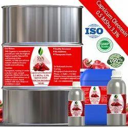 Capsicum Oleoresin 0.5 MShu 3.3%