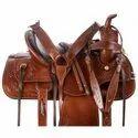 Brown Western Horse Saddle