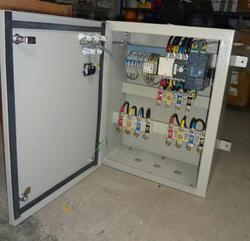 CRCA Sheet Metal, Stainless Steel Single Phase, Three Phase Change Over Panel, IP Rating: IP33, IP40, IP44, IP54, IP55