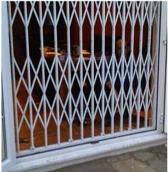 White Iron Collapsible Gates